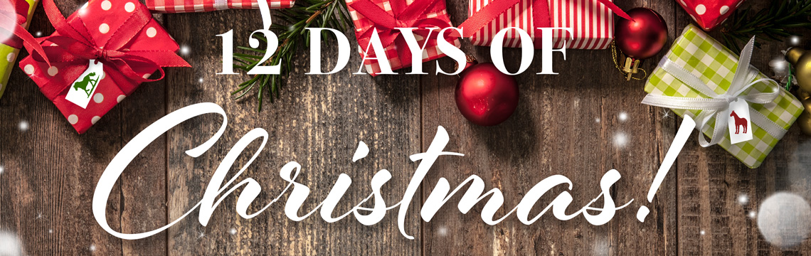 FarmVet's 12 Days of Christmas Holiday Blowout! Sales on Elemental Equine, KER, Cavalor and more site-wide!
