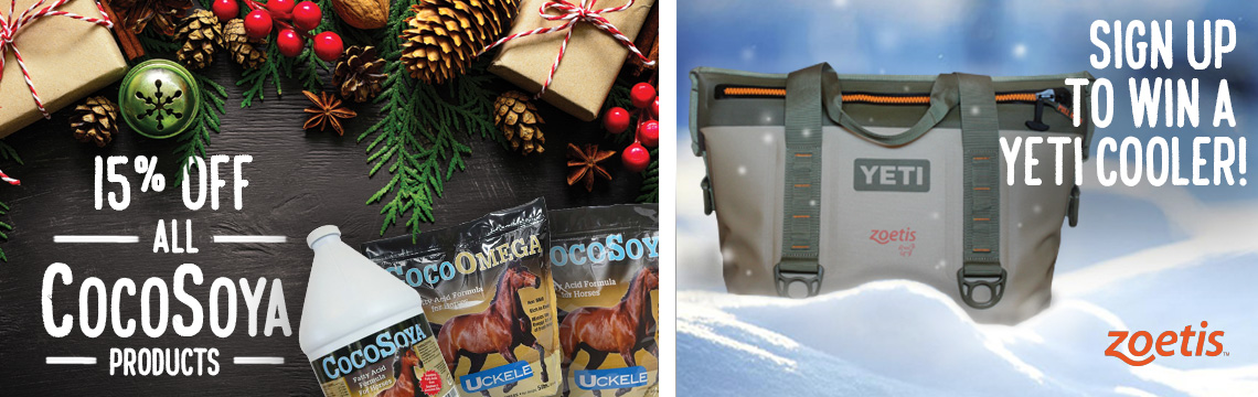 Sign up to Win a Yeti Coolor and save on Cocosoya products at FarmVet.