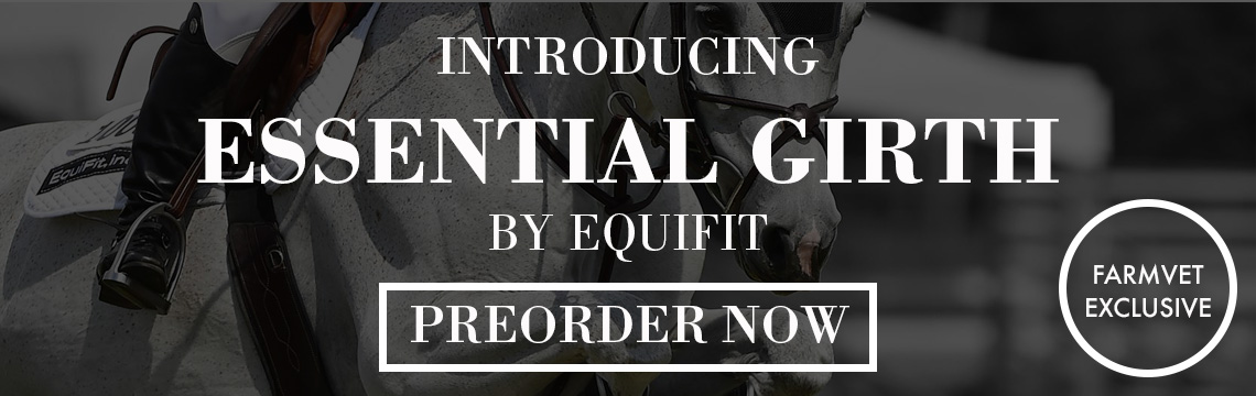 Preorder Equifit Essential Girth for horses only at FarmVet.