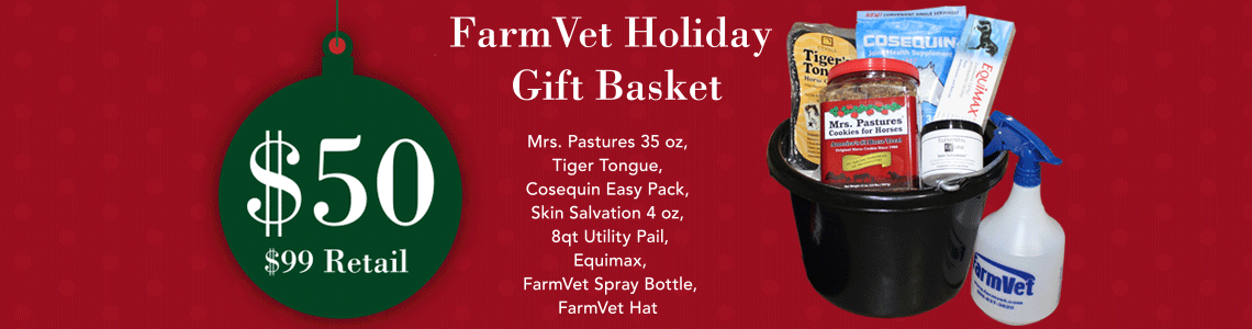 Holiday Bucket by Farmvet at 50% off Retail Price!