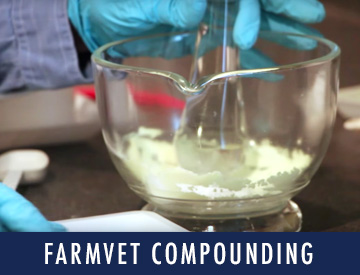See what sets FarmVet's online pharmacy has to offer with specialized compounding to help get your horse exactly the medicine it needs.