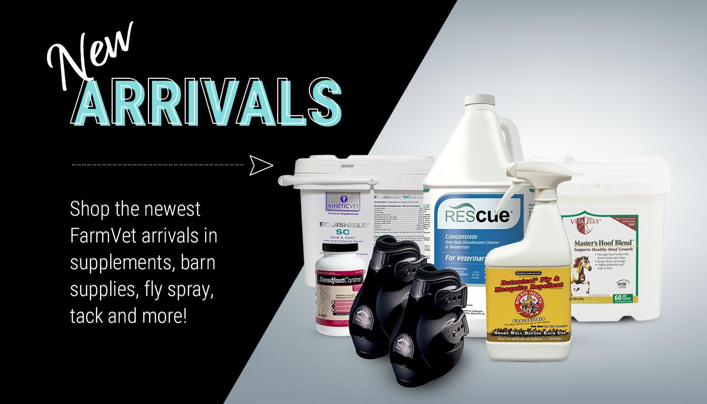New Horse Products at FarmVet