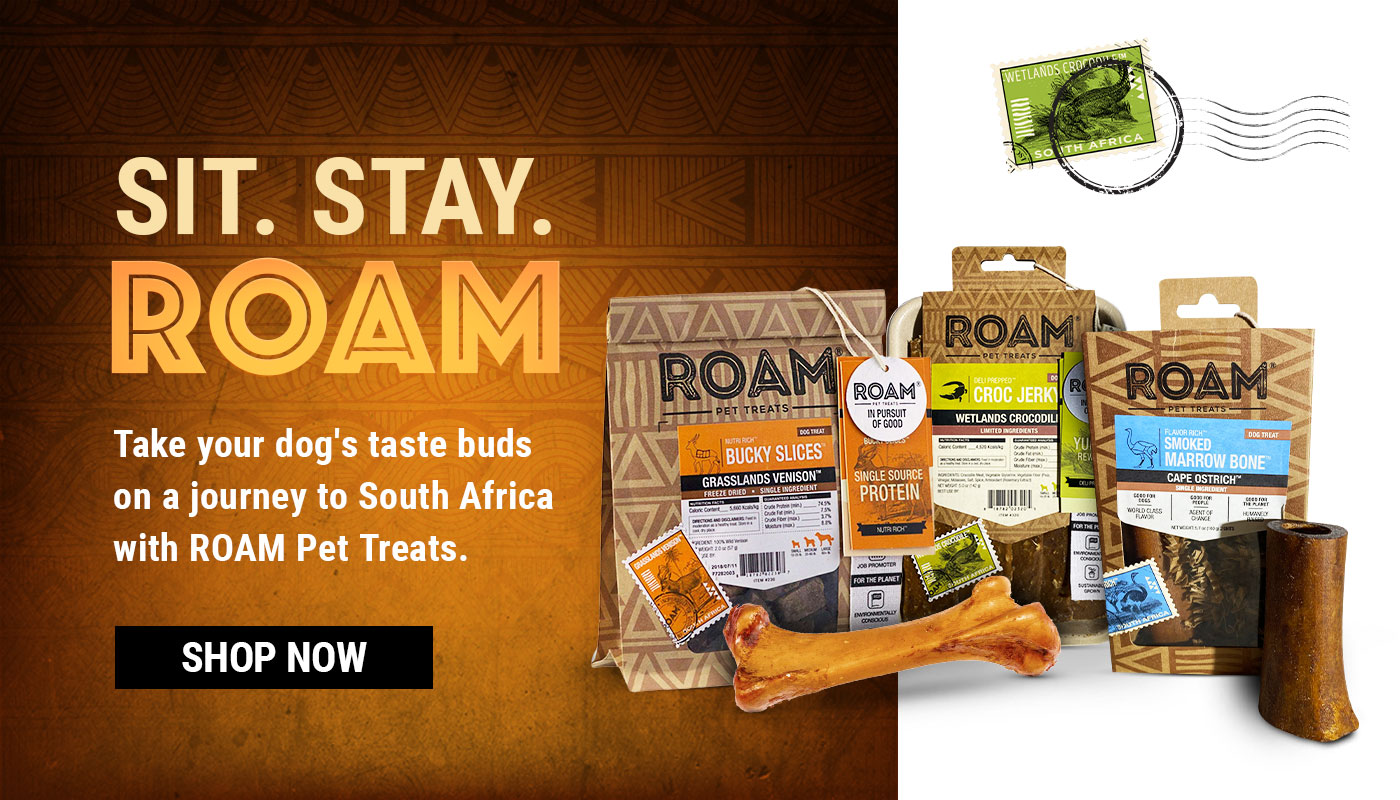 Roam Exotic Meat Treats for Dogs