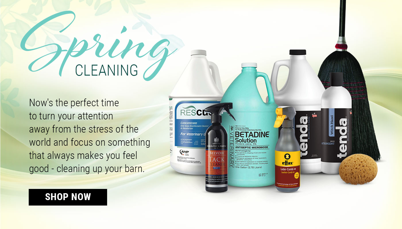Cleaning Products at FarmVet