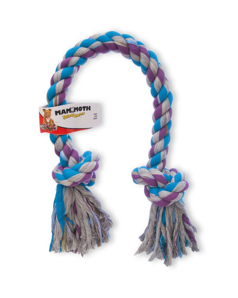 2 Knot Rope Tug for dogs