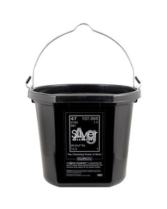 20qt AgSilver Cleanbucket from EquiFit
