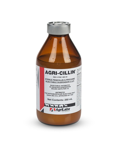 Agri-Cillin Penicillin G injection for horses
