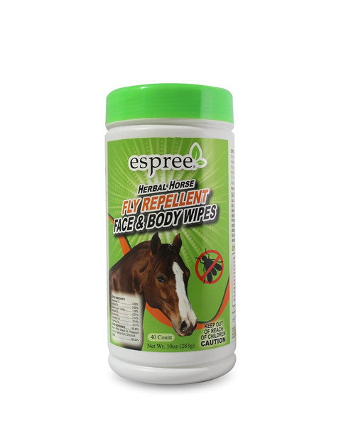 Espree Aloe Herbal Horse Face & Body Wipes