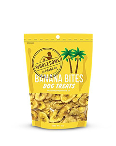 Banana Bites Dog Treats