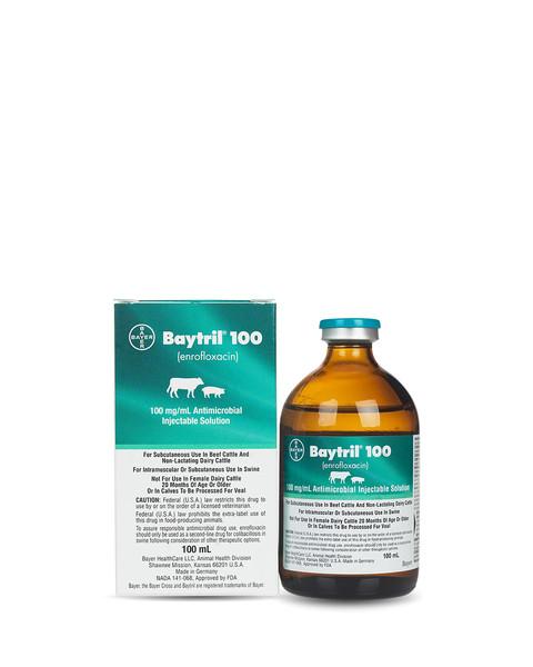 Baytril 100mg/mL