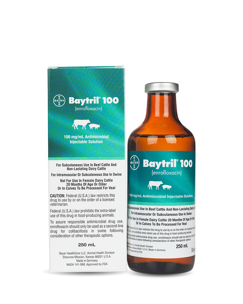 Baytril 250mg/mL