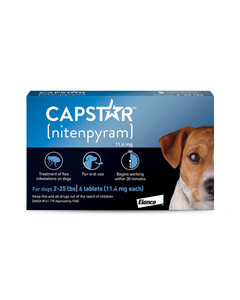 Capstar Tablets flea treatment for dogs