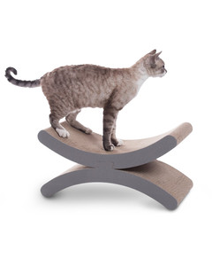 Creative Kitty Crescent Moon Scratching Post