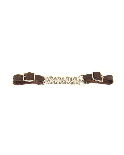 Curb Chain Leather Ends