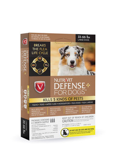 Defense+ for dogs