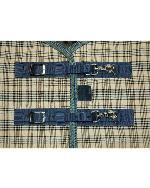 Deluxe Baker Sheet Snap Buckle Front Closure