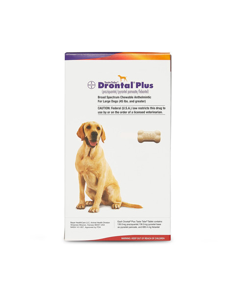 Drontal Plus Taste Tabs for dogs