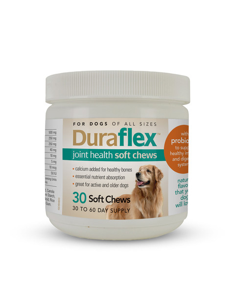 Duraflex Soft Joint Chews for dogs
