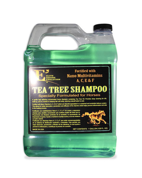 E3 Tea Tree Shampoo Gallon