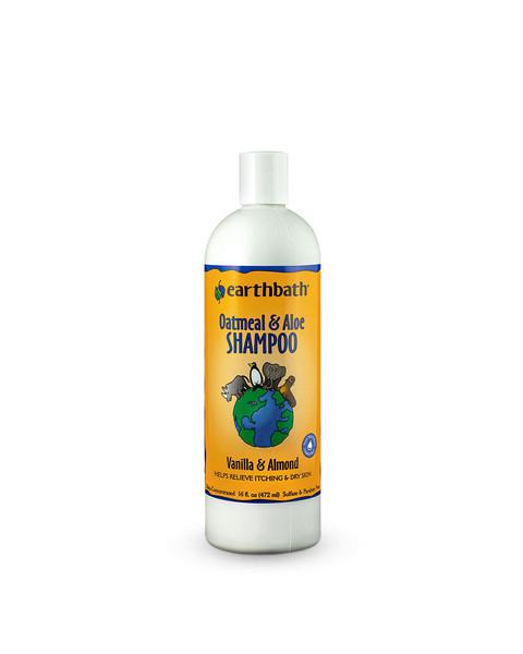 Earthbath Oatmeal & Aloe Vanilla Almond sented Shampoo for dogs
