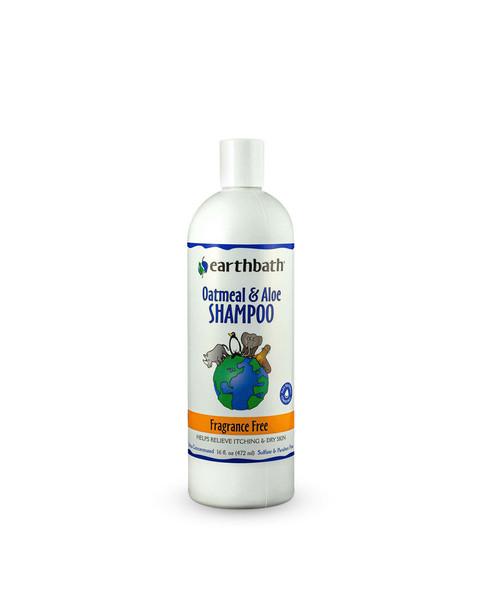 Earthbath Oatmeal & Aloe Fragrance Free Shampoo for dogs