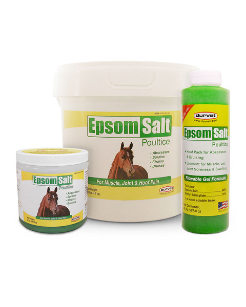 epsom salt poultice for horses
