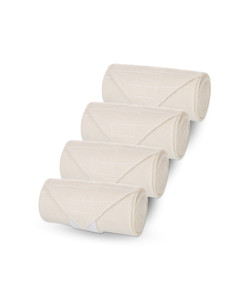 Vacs Flannel Bandage (w/ Velcro) set of 4