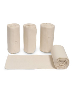 Vacs Flannel Bandage (no Velcro) set of 4