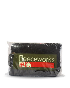 Fleeceworks Sheepskin Halter Black