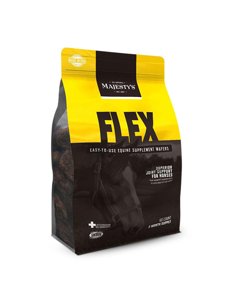 Flex Wafers Joint Supplement for Horses by Majesty's