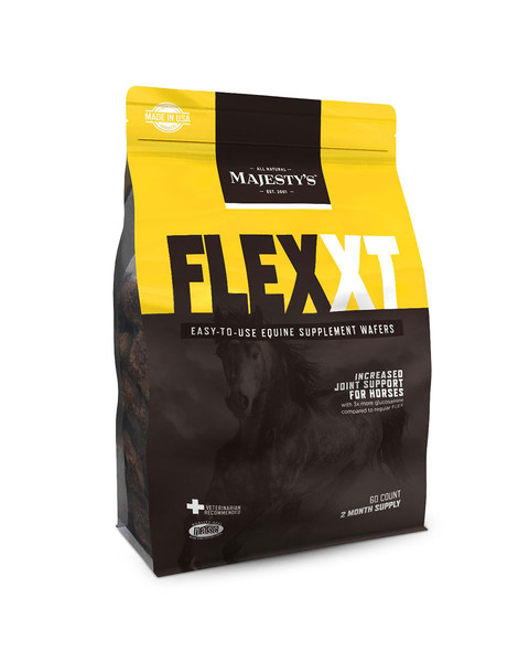 Flex XT Wafers Increased Joint Support Supplement for Horses by Majesty's