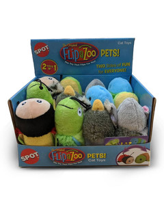 Flip A Zoo Cat Toy from Ethical Pet