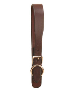 Girth loop with buckle