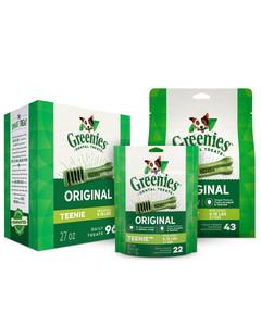 Greenies Original Dog Dental Treats