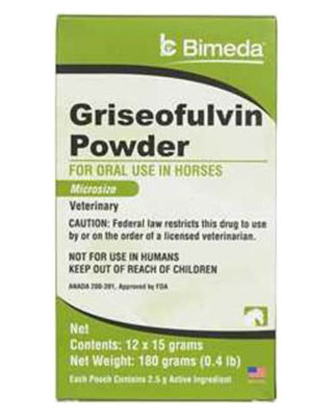 Griseofulvin For Ringworm In Horses