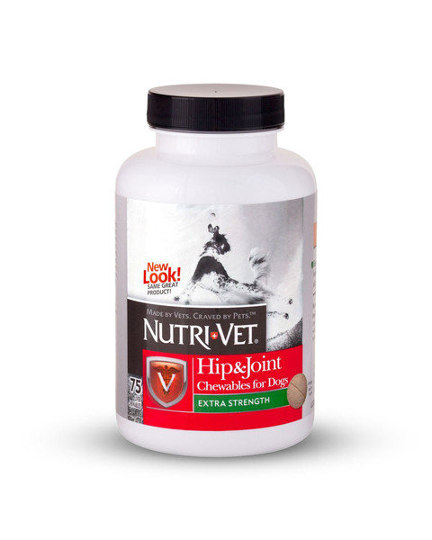 Hip & Joint Plus Chewable by Nutri-Vet