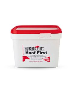 Hoof First equine supplement from Horse First