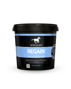 Regain equine post-workout recovery supplement by Hygain