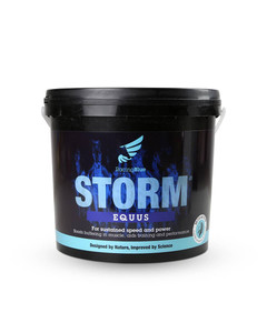 Storm equine muscle supplement by Hygain