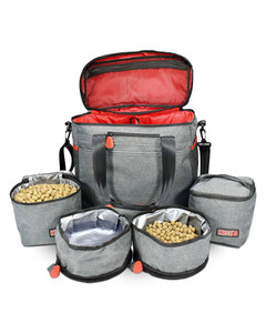 Kong 5 piece travel bag for dogs
