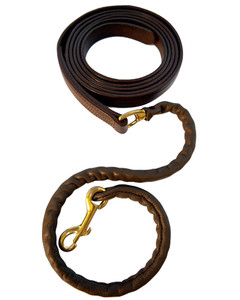 Walsh Leather Covered Chain Lead