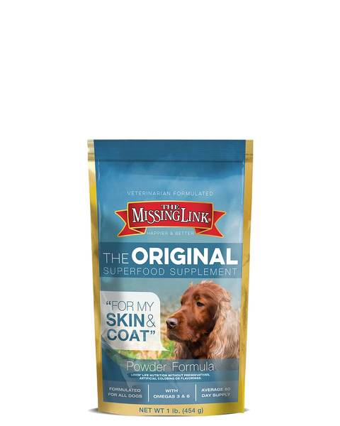 Skin and Coat supplement for dogs by The Missing Link