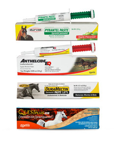 One Year Rotation Wormer Pack for horses