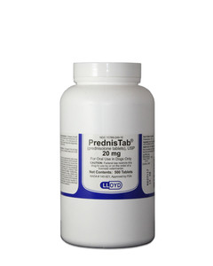 Prednisolone 20 mg tablets at Farmvet