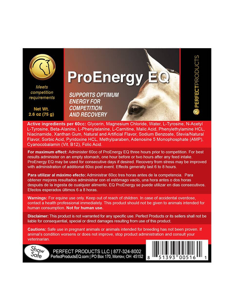 Pro Energy EQ from Perfect Products