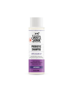 Skout's Honor Probiotic Shampoo for pets with allergies