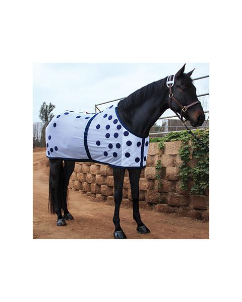 Magnetic blanket for horses