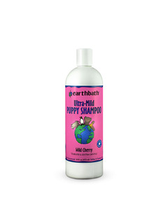 Ultra-Mild Tearless Puppy Shampoo from EarthBath