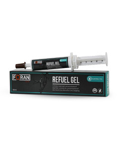Refuel Gel concentrated electrolyte supplement gel from Foran