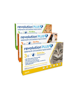 Revolution Plus for Cats parasite protection by Zoetis